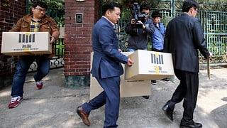 Südkorea: Büros der Fährbetreiber werden durchsucht