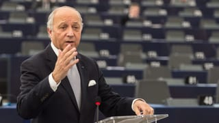 Frankreichs Aussenminister Laurent Fabius tritt zurück