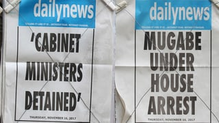 Mugabe verhandelt mit Militärführung