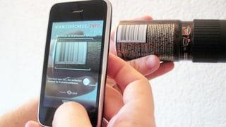 Smartphone-App «Codecheck» entlarvt Palmöl in Produkten