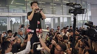 Hongkonger Aktivist Joshua Wong vorzeitig aus Haft entlassen