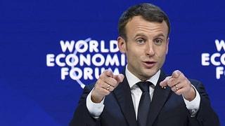 Auch Macron sagt für das WEF ab