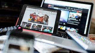 Wahlkampf im Netz: SVP schlägt andere Parteien deutlich