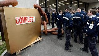 Genf: Aufseher protestieren gegen Überbelegung