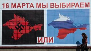 Die Krim im Eiltempo zu Russland
