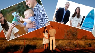 3 Wochen Postkarten-Idyll: So eroberten Kate & William Down-Under