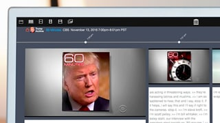 Hat er's wirklich gesagt? Ein Archiv sammelt Trumps TV-Auftritte