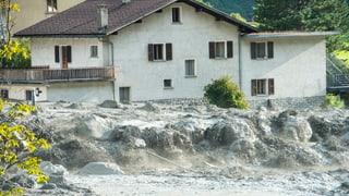 Nach der Geröll-Lawine von 2011 investierte Bondo 4,5 Millionen Franken in ein Hochwasserschutz-Projekt.