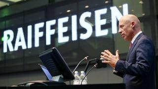 Raiffeisen-CEO Gisel erhält Rückendeckung von Verwaltungsrat
