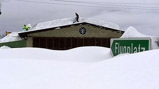 Rekord-Schnee im Süden