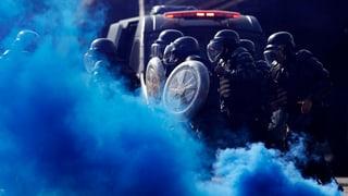 Über 150'000 Polizisten sollen für sichere Fussball-WM sorgen