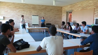 Kantischüler bieten Deutschunterricht für Asylsuchende an