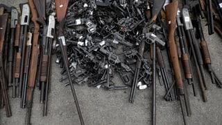 Die Schweiz exportiert viele Kleinwaffen – aber vorbildlich