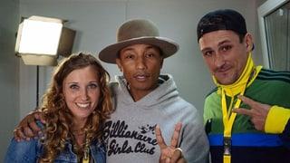 Ach Pharrell, was war denn da los? (Artikel enthält Audio)