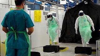 Briten simulieren Ebola-Ausbruch