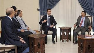 Syrien wappnet sich mit Notfallplänen