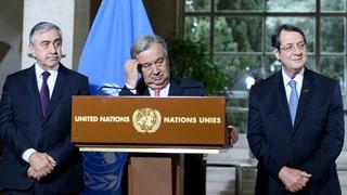 UNO-Konferenz zu Zypern: Vertagt, nicht gescheitert