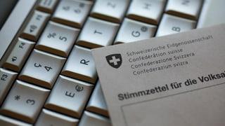 E-voting en Grischun – emprims pass concrets