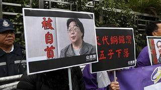 Vermisster Verleger taucht im chinesischen Fernsehen auf
