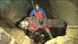 Höhlenforscher geht es unerwartet gut