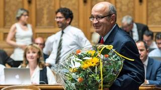 Christian Miesch als Nationalrat vereidigt