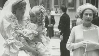 Noch nie gezeigt: Neue Hochzeitsfotos von Lady Di & Prinz Charles