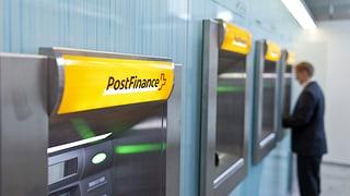 Postfinance legt 2012 kräftig zu