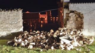 Starke Erdbeben erschüttern Italien