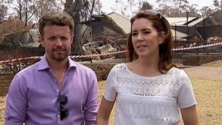 Heimspiel: Prinzessin Mary reist durch Australien