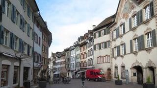 Keine froschgrünen Häuser in der Rheinfelder Altstadt