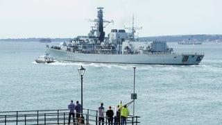 London schickt Kriegsschiffe Richtung Gibraltar