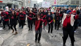Weltweiter Protest gegen Gewalt an Frauen