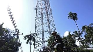 Burma schneidet eine Million Menschen vom Internet ab