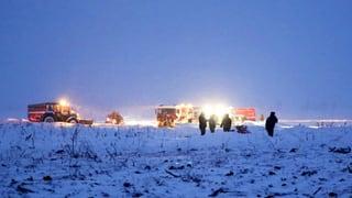 Flugschreiber des abgestürzten Flugzeugs bei Moskau gefunden