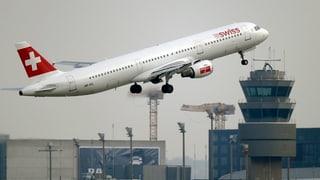 Flüge über Ostukraine: Swiss verteidigt sich