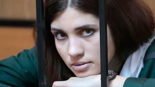 Pussy-Riot-Mitglied im Hungerstreik