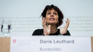 Leuthard: Klima-Abkommen muss alle in die Verantwortung nehmen