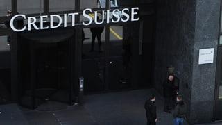 Credit Suisse ist weniger kreditwürdig