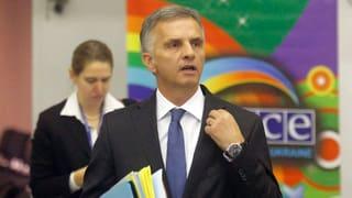 Schweiz übernimmt zum zweiten Mal den OSZE-Vorsitz