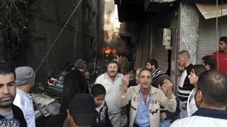 Tote nach Bombenterror in Damaskus