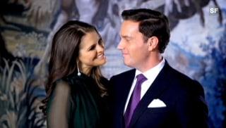 Prinzessin Madeleine gibt Verlobung bekannt