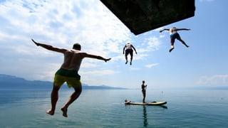 Keine Hitze-Buddies in der Deutschschweiz