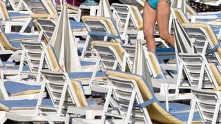 Keine Schweizer mehr am Strand?