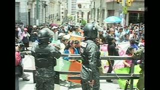 Bolivien: Kinder demonstrieren für Recht auf Arbeit