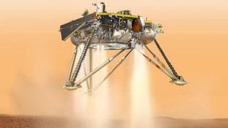 Nasa-Sonde landet auf dem Mars – um die Erde zu erforschen