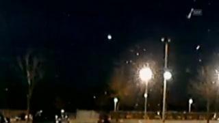 Meteorit schreckt Amerikaner auf