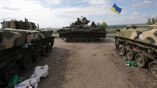 Poroschenko meldet militärische Erfolge