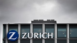 Zurich baut in der Schweiz rund 800 Stellen ab