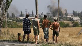 Die Lage in der Ostukraine bleibt angespannt