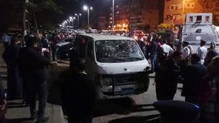 Unbekannte töten acht Polizisten in Kairo